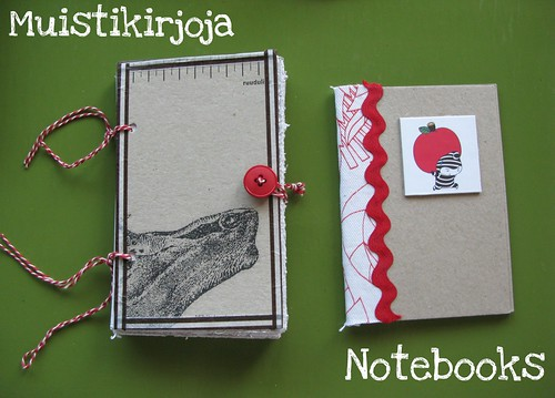 Notebooks I made