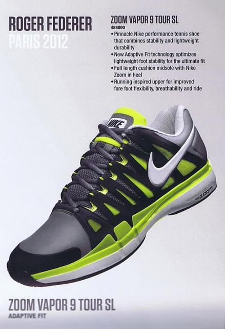 Roland Garros 2012: Roger Federer Nike outfit