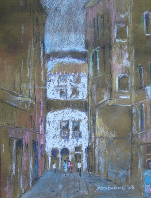 Venetian study I by Peter Osborne