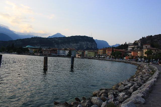 Torbole, pueblo bonito del Lago di Garda
