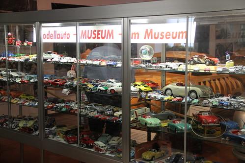 Modellauto Museum im Museum