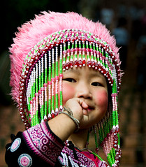 Hill tribe girl (dazza17 - DJ) Tags: travel print temples smethwick earthasia totallythailand chiagmia