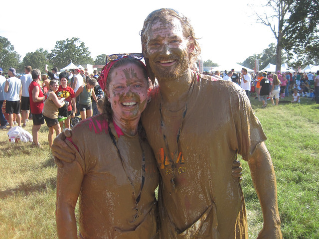 The Couple That Swims In Mud Together...