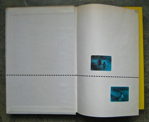Colette (Sidonie-Gabrielle), Le blé en erbe; Club des éditeurs, (Flammarion), Paris 1956. Carte di guardia, 1 e 2 (part.), 1