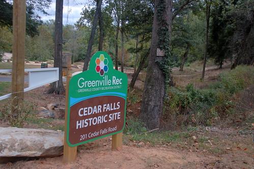 Cedar Falls Sign