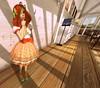 Coordinate 231 (littlerowan) Tags: truth lolita secondlife teddybear egl maryjanes orangehair bows sweetlolita hairbows casuallolita overkneesocks honeykitty otks orangelips katat0nik pinkfuel