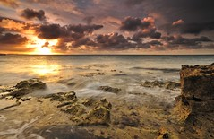 Portland (Mark A Jones (Andreas Jones Photography)) Tags: sea england sky seascape water beauty clouds sunrise portland dawn coast nikon rocks shore dorset portlandbill limpets jurassiccoast portlandlighthouse leefilters d700