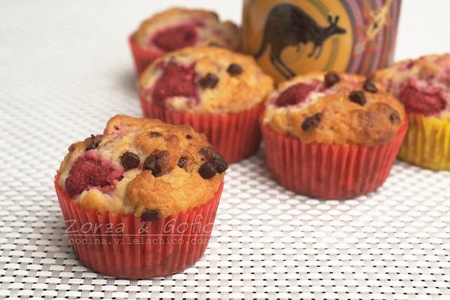Rasberry muffins