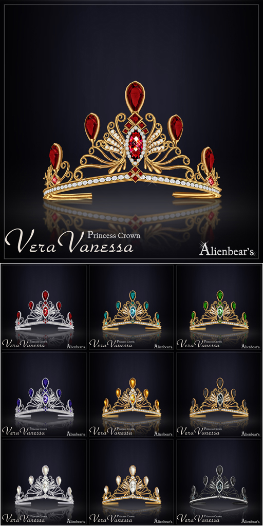 Vera Vanessa Princess Crown all