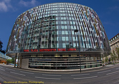 Park Plaza Hotel (Muzammil (Moz)) Tags: london hotel fisheye moz muzammilhussain parkplazawestministerbridge