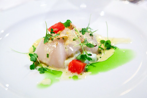 Diver sea scallop carpaccio