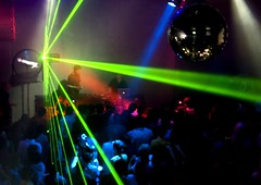 Clubbing We Go (Serge Freeman) Tags: party people club lights dance crowd event laser