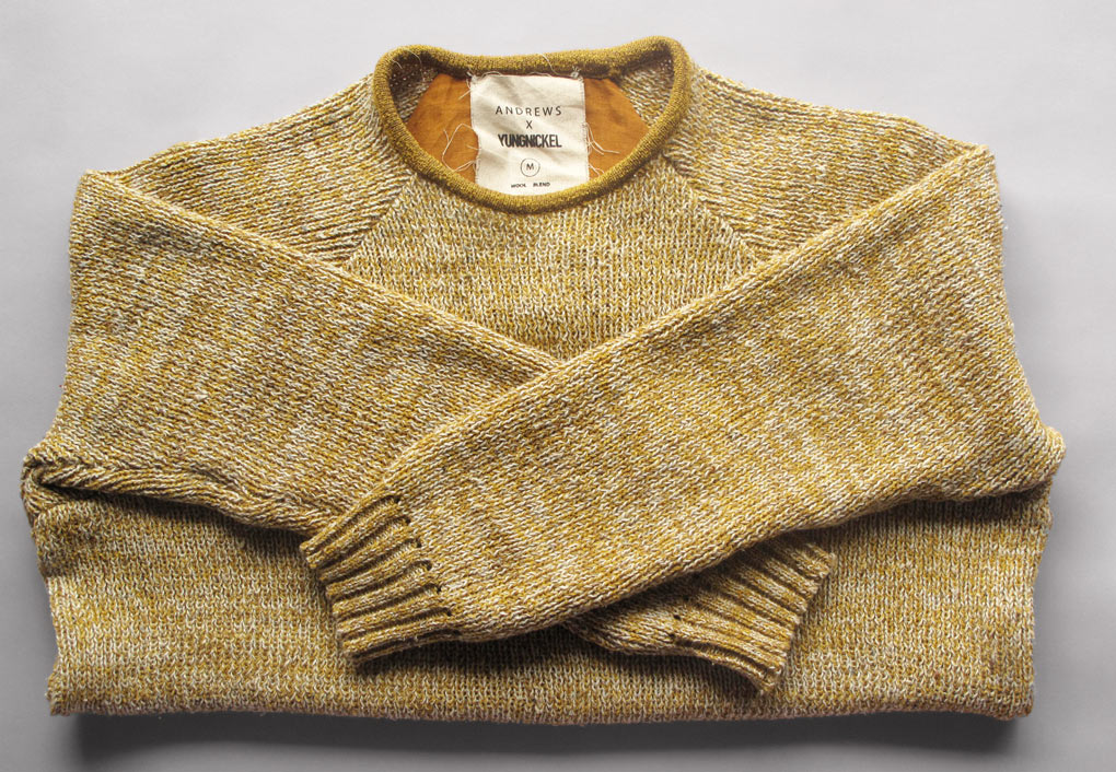 Andrews x Yungnickel knitwear