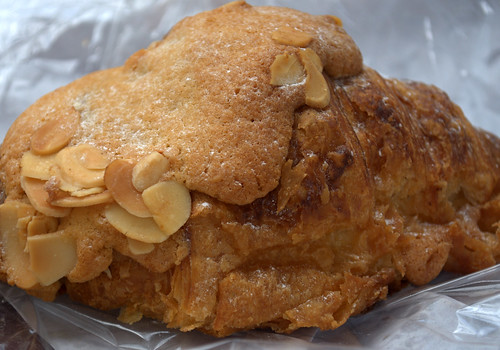 Almond croissant, The Flour Station