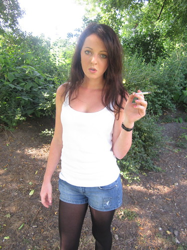 Young girl smoking fetish opinion
