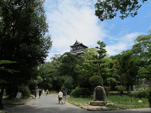 広島城 本丸