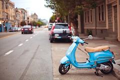 San Francisco Blues (Jinna van Ringen) Tags: sanfrancisco vespa 50mmf14 carlzeiss jinnavanringen chanderjagernath jagernath jagernathhaarlem