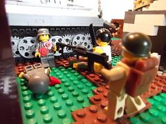 DSCF1158 (phelipe247) Tags: toys tank lego contest plastic ww2 americans panther germans brickarms brickmania