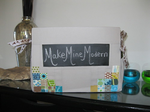 Make Mine Modern Fabric Basket