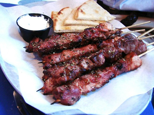 Box of Pork Souvlaki Stix