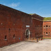 The entrance to the 19th Century Fort Nelson in Hampshire