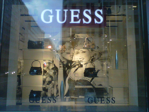 There 39s a newish GUESS store on F Street near Metro Center which somehow
