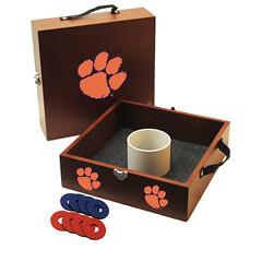 Clemson Tigers Washers Toss Game