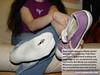 Mindy02 (gtsblade) Tags: feet socks foot sock squish crush giantess gts shrink shrunkenman