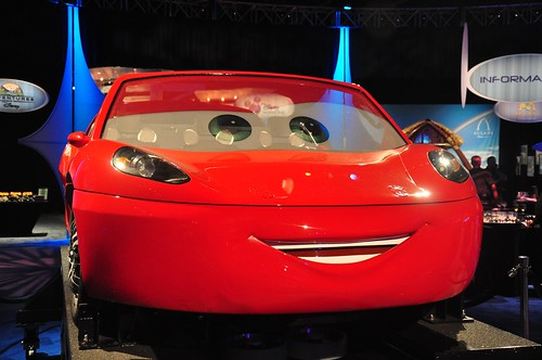 Radiator Springs Racers ride vehicle
