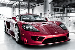 EXOTIC SALEEN S7  (Explore) (Ahmad Al Maousherji) Tags: red cars car bahrain track garage super pit exotic circuit saleen s7