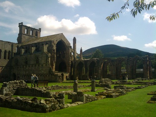Melrose Abbey, Scotland 03