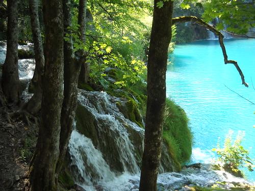 Falling Waters, Plitvice National Park, Croatia