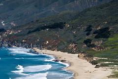 Pacific Coast Highway Winding Toward Carmel, CA 2010 (Lone Cypress) Tags: ocean california pacific bigsur highway1 pointsur pacificcoasthighway