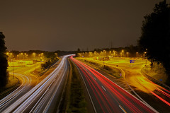 a45 at night (Der Michl) Tags: longexposure night germany lights licht europe nightshot nacht traces autobahn nrw a45 dortmund hdr photomatix tonemapped lichtspuren flickraward flickraward5 mygearandme mygearandmepremium mygearandmebronze mygearandmesilver flickrawardgallery