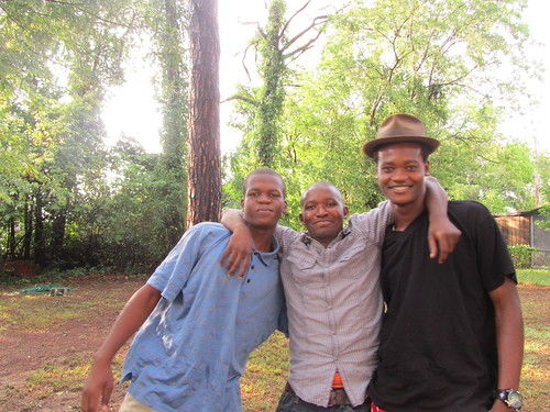 Omar, Adan and Hassan have grown a lot since we first met them!