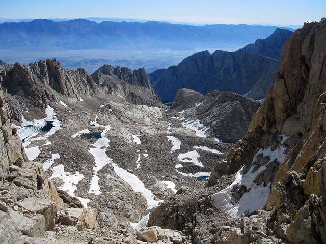 Mt. Whitney trail crest