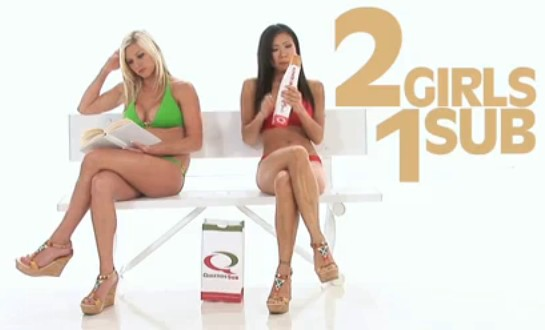 2 girls 1 sub