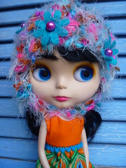 Yay....Tigerlily's first BC helmet!!