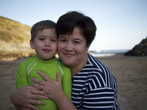 Maximilien & Mommy, August 2011