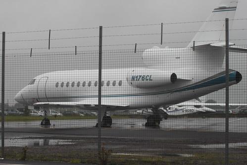 Dassault Falcon 900EX N176CL @ Bristol Airport