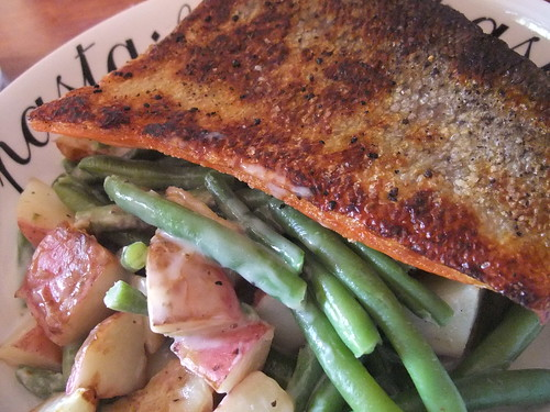 Steamfresh Roasted Red Potatoes and Green Beans
