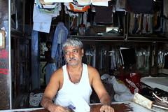 A dhobi in Arab Gali, Mumbai (jaideep.vaidya) Tags: mumbai kamathipura redlightarea biggestredlightarea
