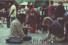 ORDINARY CHESS GAME (The Ordinary Life) Tags: bw white black london bn bianco londra nero floriano macchione