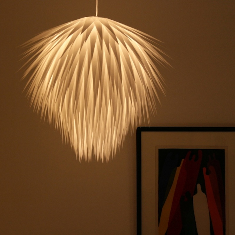 Paper Starburst Pendant Light by The 3Rs blog 4