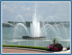 """""""The Peace Fountain"""" (ellenc995) Tags: fountain peace park water river friends coth rubyphotographer coth5 supershot concordians 100commentgroup akob ruby10 challengeclubchampion"""