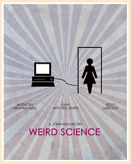 Weird Science (1985) (Jon Glanville) Tags: computer anthonymichaelhall johnhughes weirdscience kellylebrock ilanmitchellsmith minimalistfilmposter kellylebrook