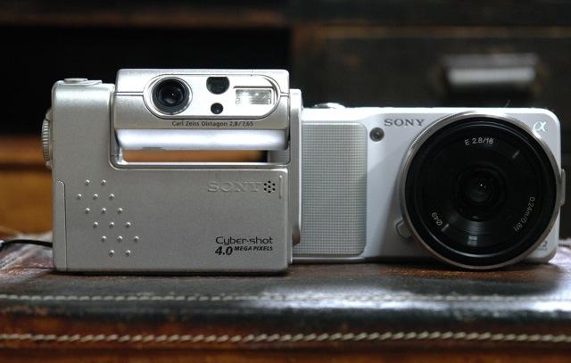 NEX-3 CONTAX Distagon 28mm F2.8 アクセサリーとか