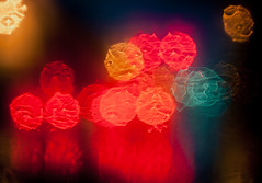 irene. (nardell) Tags: blur trafficlights rain weather bokeh pa irene watercolors storms westchester hurricaneirene eastcoasthurricane