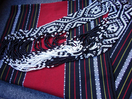 Philippine textiles: Kalinga cloth, T'boli beads