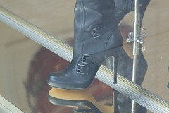 57DW4313 Coach Black Leather high heel boots (6) (bootlover27) Tags: black leather coach high boots heel coachblackleatherhighheelboots